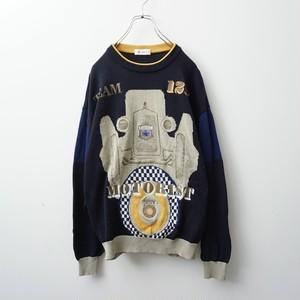 Vintage motorist knit
