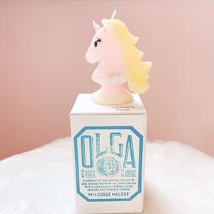OLGA-goosecandle- ユニコーン ピンク unicorn-pink-F / 一角獣(メス)