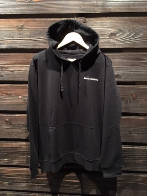 Banks Journal  LABEL FLEECE AFL0264  D.Black  Lサイズ