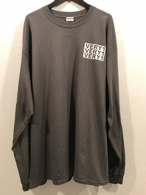 【一点物】VERYONE デザイン LONG-sleeve shirt