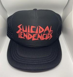 SUICIDAL TENDENCIES / スイサイダルテンデンシーズ : キャップ ブラック×レッド