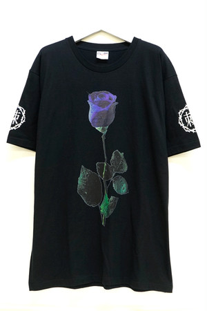 「棘薔薇/Rose Needle」T-Shirt Black