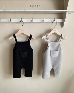 【予約販売】bambam overalls〈Aosta〉