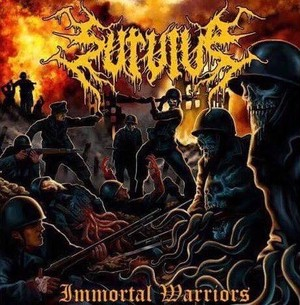 Immortal Warriors 海外仕様CD