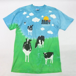 BEN & JERRY'S PRINT TEE MADE IN U.S.A. (ベンアンドジェリーtee )