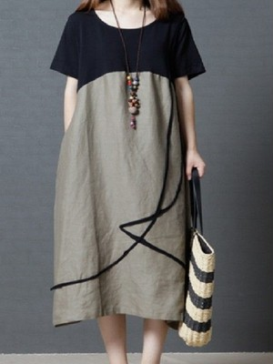 【dress】Original perfect for summer large size casual dress