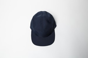 ESTER CAMP CAP (NAVY / ORANGE)