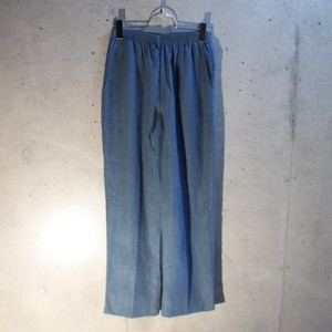 Fake Suede Easy Pants