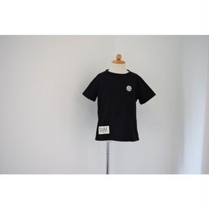 Simva Kids 504-0004-Black W-Pocket Crew S/S