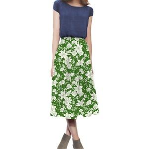 花柄 スカート 0001-C