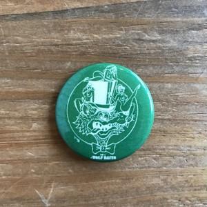ウルフベイツ缶バッチ 小《Green》
