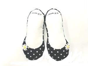 Shoe Deodorant(ドット)バレエシューズ型 靴の消臭剤(日本製)