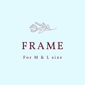 Frame for Custom Wedding Bouquet Painting【M&Lサイズ向け】