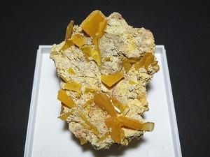 モリブデン鉛鉱 - Wulfenite