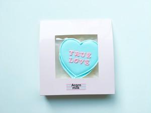 キャンディハーツクッキー(TRUE LOVE)水色×ピンク