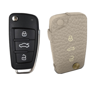 Audi 専用 TypeE Car Key Case Shrink Leather Case