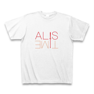 ALIS TIME Tシャツ(赤色)