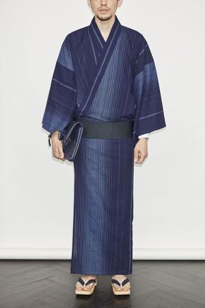 きもの / 片貝染紅梅 / グラデーション(With tailoring)