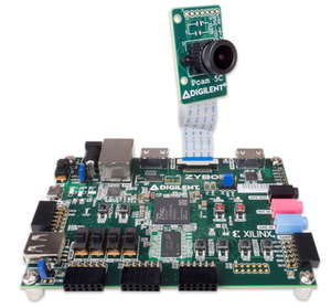 ZYBO Z7-20とPCam 5Cカメラ Digilent Embedded Vision Bundle 型番:471-021