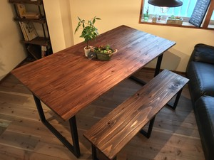 Sugi  Dining Table (Square leg)