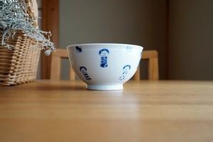 砥部焼/茶漬碗/コケシ/森陶房kaori