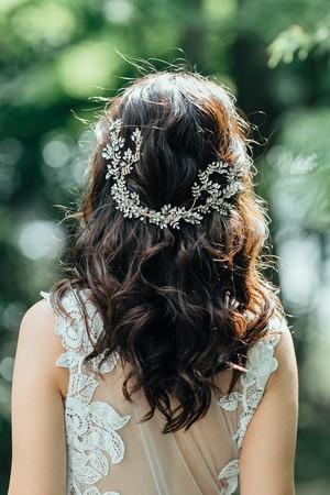 ブライダルヘッドドレス[HA-110]