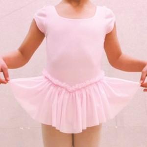 《生徒限定》司モダンバレエ教室 キッズレオタード【マーガレット】ピンク