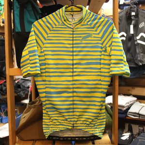 TEAM DREAM / Hand Stripe Jersey /Yellow/Cyan