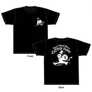 「$wing Jack」 Tシャツ black