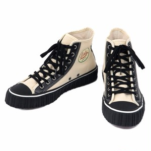 """AT-DIRTY(アットダーティー)/SNEAKER MODEL """"MILE"""" Type : HIGH(IVORY)"""