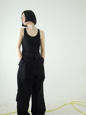 TUKI - reversed pants (black)