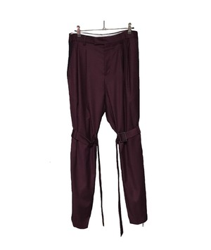 WIDE BONTAGE TROUSERS