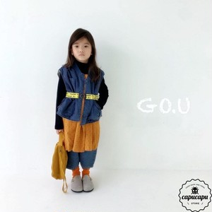«sold out» go.u vest with mom 2colors ベスト ママサイズあり