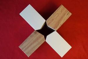 ティッシュボックスアンダーザテーブル(4個まとめ買い)