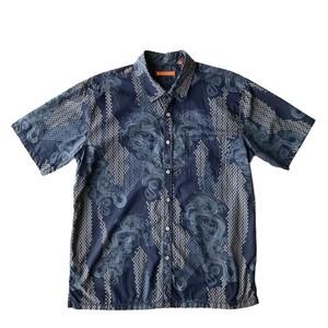 Tori richard  / USEDアロハシャツ / size L