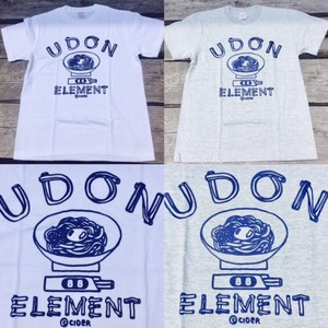 かせきさいだぁ UDON ELEMENT Tシャツ WEB限定カラー1