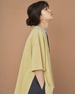Quatorze コード付きTシャツ(Yellow)