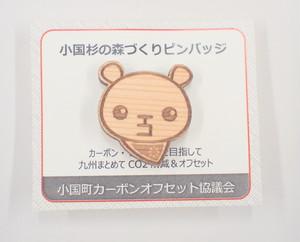 ていたんピンバッジ/マグネット【北九州市環境マスコットキャラクター】
