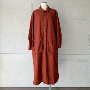 【FIRMUM】ナイロンタッサー/ガーメントダイステンカラーコート/ AR_FR105CT