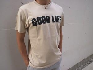 GOOD LIFE Tシャツ(beige)