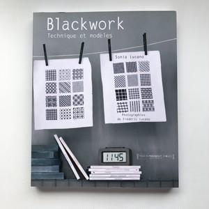 フランスのシンプルモダンなブラックワーク Blackwork