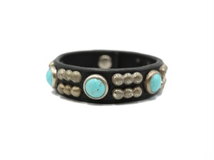 STUDS BANGLE (CONNECT TURQUOISE)
