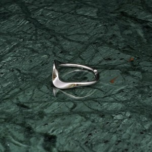 S925 WAVE RING SILVER