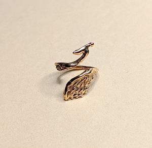 BAMBI X RUKUS 比翼の鳥リング | Phoenix Ring