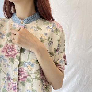 フラワープリントシャツ (imy)