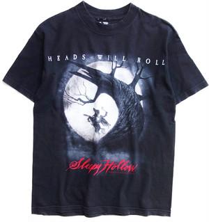 90年代 スリーピー・ホロウ 映画 Tシャツ 【M】 | Sleepy Hollow ティム・バートン ホラー ヴィンテージ 古着