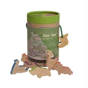 GK24200 動物つみ木 動物園