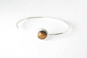 Stone bangle ーTiger's eyeー