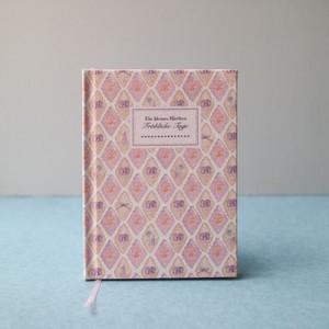 特別なことを綴るための手製本ノート*パンジーのアーガイル
