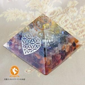 アセンションチャクラのピラミッド 2017【オルゴナイト】